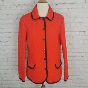 Brooks Brothers Red Fleece Quilted Barn Jacket 8